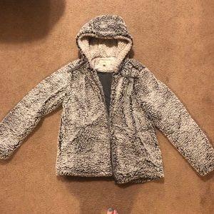 SUPER fluffy Sherpa jacket